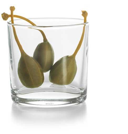 Vorspeise Kapernäpfel im Glas